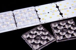 Светодиодный модуль 370-R1 48 LED 2835/3030 4P12S 204х60х1,5мм