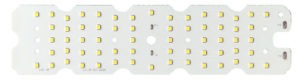 LED модуль со вторичной оптикой для светодиодного светильника 60 Вт