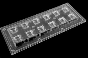 Вторичная оптика для светодиодов Darkoo DK173-12H1-60×60