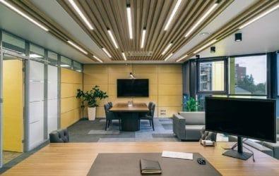 линейные светодиодные светильники для офиса