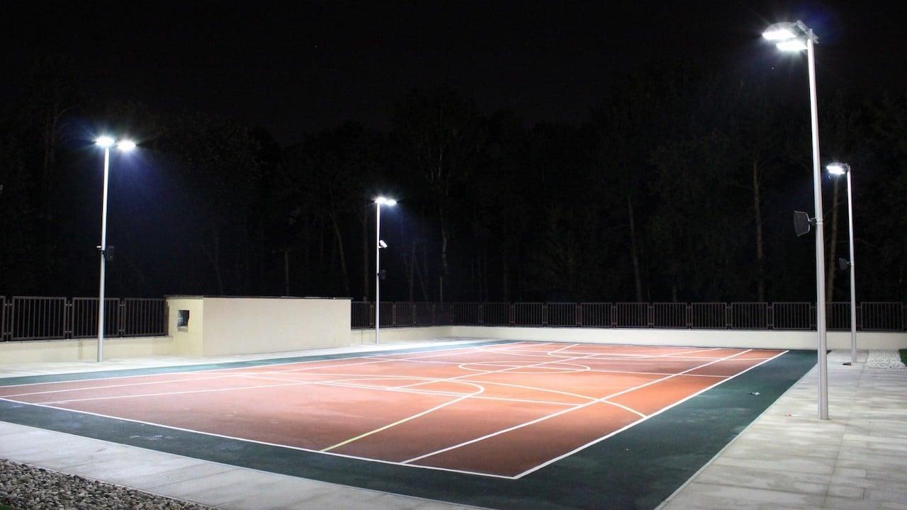 Освещение футбольных полей
