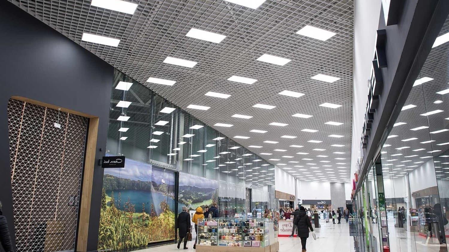 светодиодное освещение в торговых помещениях