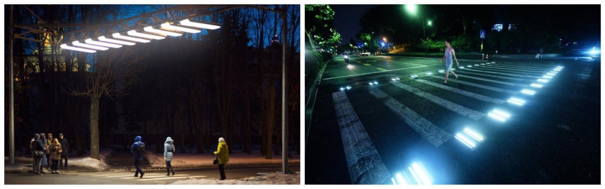LED Освещение пешеходных переходов