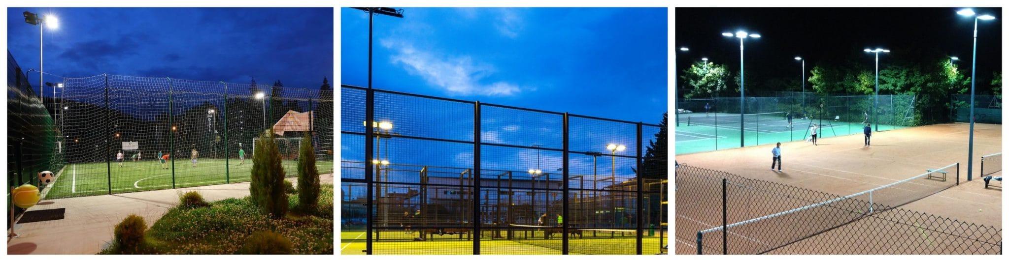 Освещение спортивных площадок