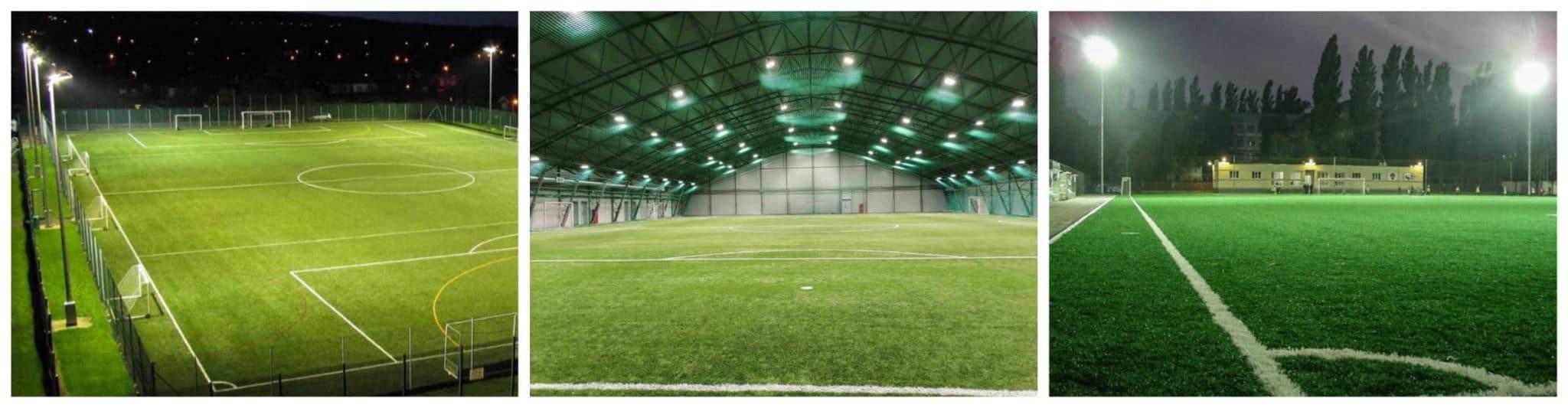 Освещение футбольных стадионов