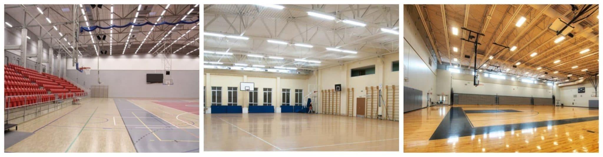 светодиодное освещение для спортивных залов