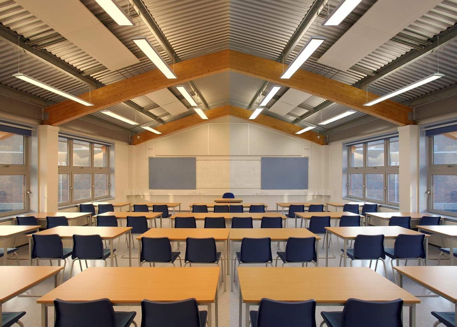 Светодиодное освещение школ